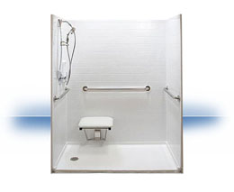 Walk in shower in Wheeler by Independent Home Products, LLC
